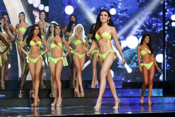 Nhìn lại hành trình tỏa sáng của Huyền My ở Miss Grand International 2017-4