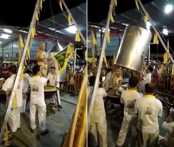Pháp sư Malaysia mất mạng khi chui vào nồi hấp để hành lễ-1