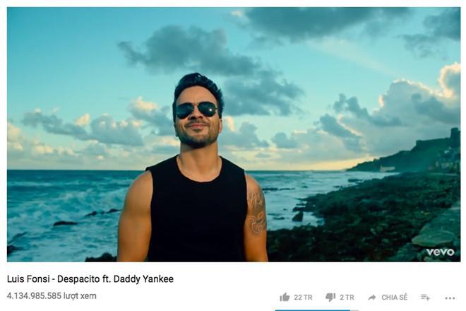 Despacito giúp tăng trưởng 44% doanh thu nhạc Latin-1
