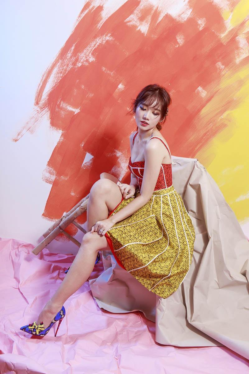 Làm giám khảo Miss Grand 2017, Lý Nhã Kỳ soán ngôi sao mặc đẹp trên thảm đỏ tuần này-3