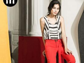 Kim Dung Next Top làm vedette trong fashion show của M.Y.M