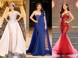 Làm giám khảo Miss Grand 2017, Lý Nhã Kỳ 'soán ngôi' sao mặc đẹp trên thảm đỏ tuần này