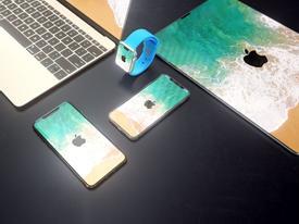 Concept các sản phẩm Apple theo phong cách iPhone X