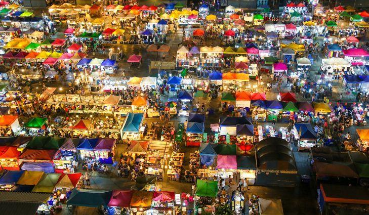 10 khu chợ đêm khổng lồ trên thế giới-1