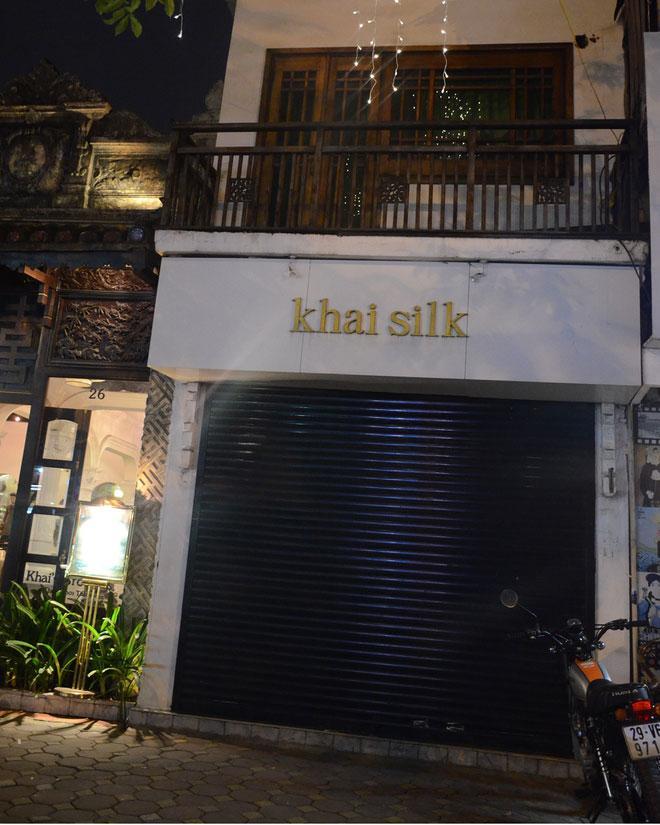Người đầu tiên phanh phui cửa hàng Khaisilk bán lụa Trung Quốc: Tôi rất sốc và bất bình với việc làm của ông Hoàng Khải-6