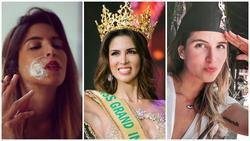 Vừa lên ngôi Miss Grand 2017, người đẹp Peru bị lộ hình xăm và loạt ảnh hút thuốc lá