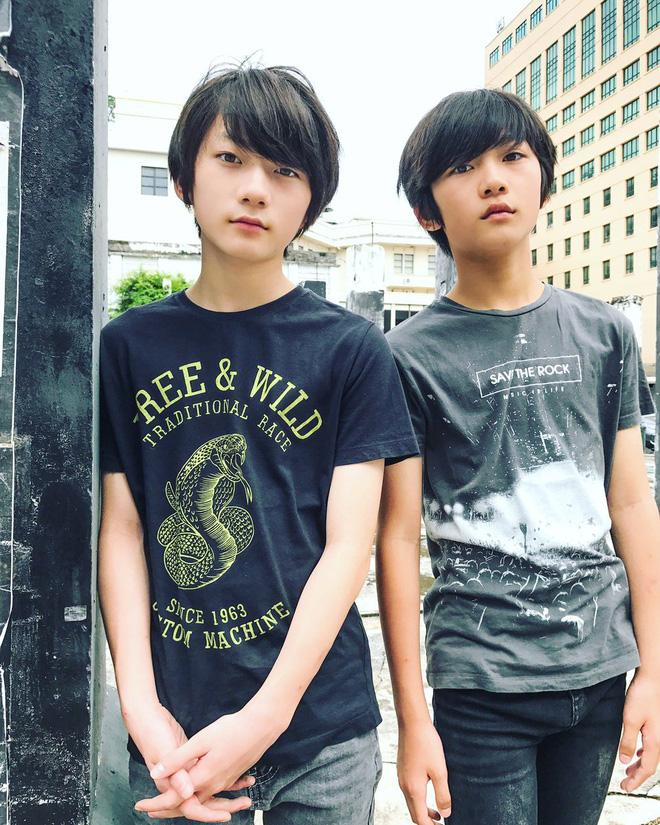 Cặp con lai người Nhật mới ít tuổi đã đẹp từ anh đến em, muốn không hot cũng khó-3