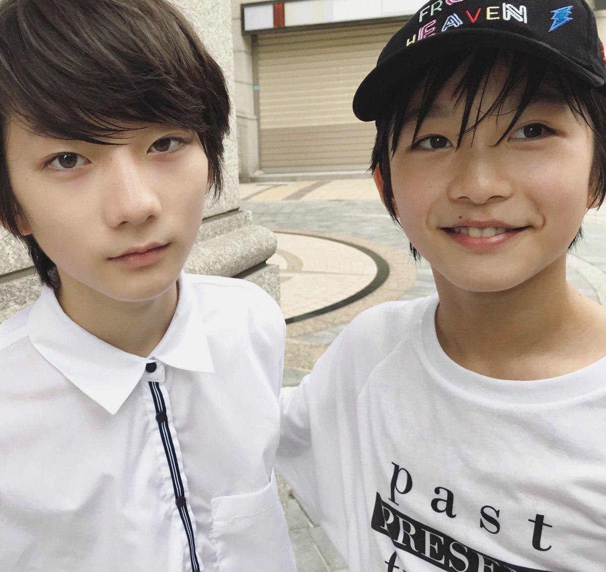 Cặp con lai người Nhật mới ít tuổi đã đẹp từ anh đến em, muốn không hot cũng khó-1