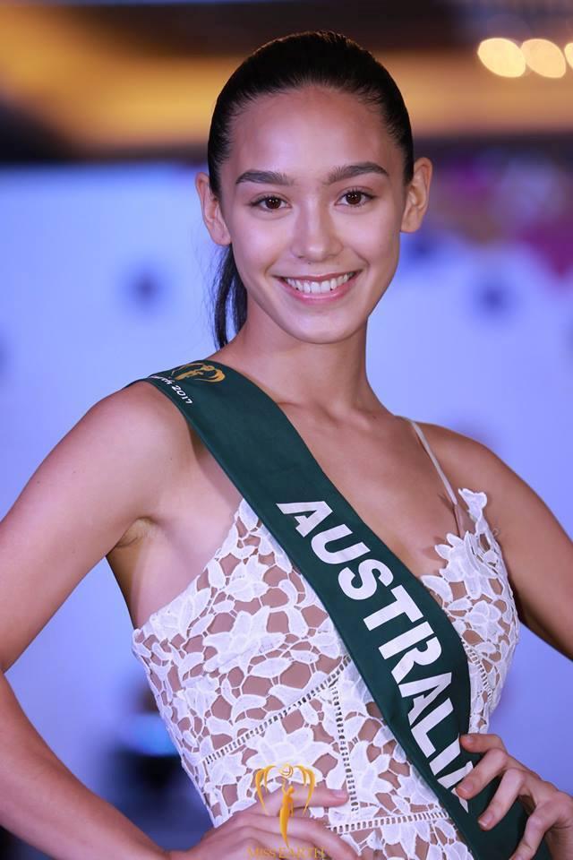 Hoảng hốt khi ngắm nhan sắc thật sự không photoshop của thí sinh Hoa hậu Trái đất 2017-6