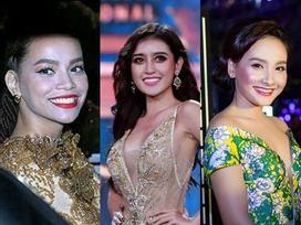 'Hết hồn' với muôn kiểu make up ngỡ như hóa trang Halloween của dàn mỹ nhân Việt