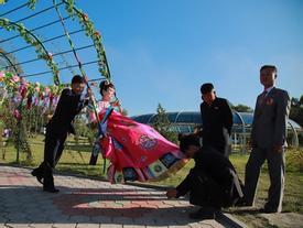 Chụp ảnh cưới ở Triều Tiên