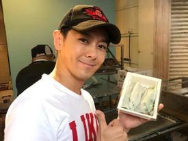 Dân Đài Loan xếp hàng mua bánh cuốn vỉa hè của anh trai Lâm Chí Dĩnh
