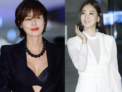 Sao Hàn 28/10: 'Mẹ Kim Tan' U50 khoe ngực đầy, đọ sắc cùng Hoa hậu Hàn Quốc
