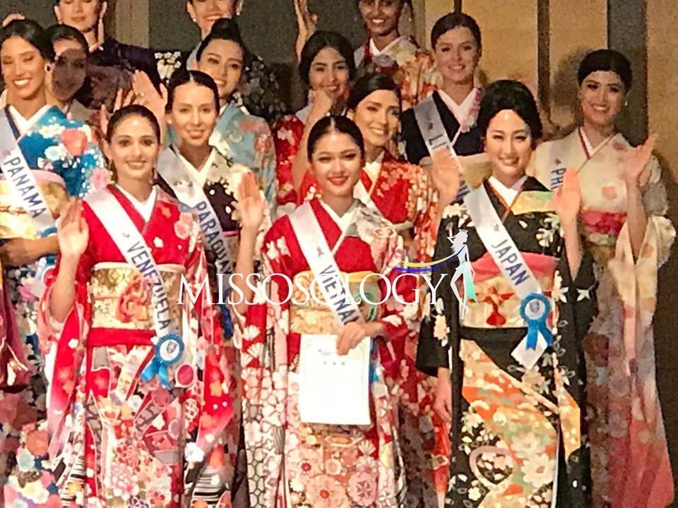 Khán giả Việt lo lắng khi Thùy Dung nhận giải phụ đầu tiên tại Miss International 2017-3
