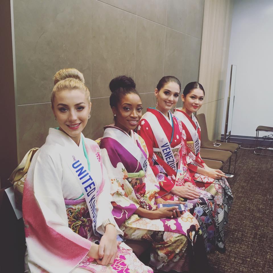 Khán giả Việt lo lắng khi Thùy Dung nhận giải phụ đầu tiên tại Miss International 2017-6