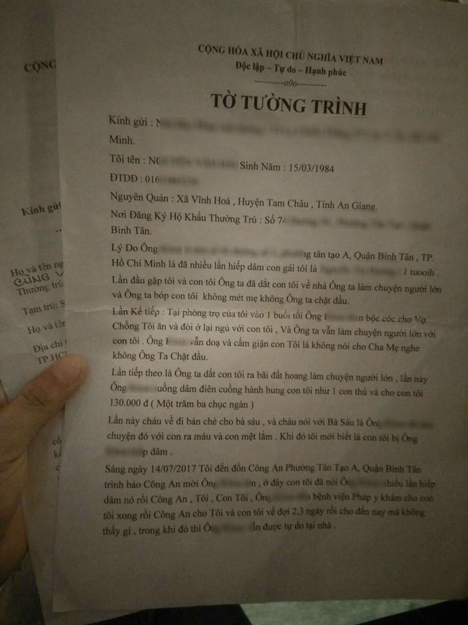 TP.HCM: Nghi án ông già 70 tuổi hiếp dâm bé gái 11 tuổi nhiều lần khiến bé có dấu hiệu mang thai?-4