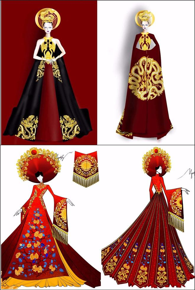 Trang phục dân tộc của Huyền My ở Hoa hậu Hòa bình bị tố sao chép-1