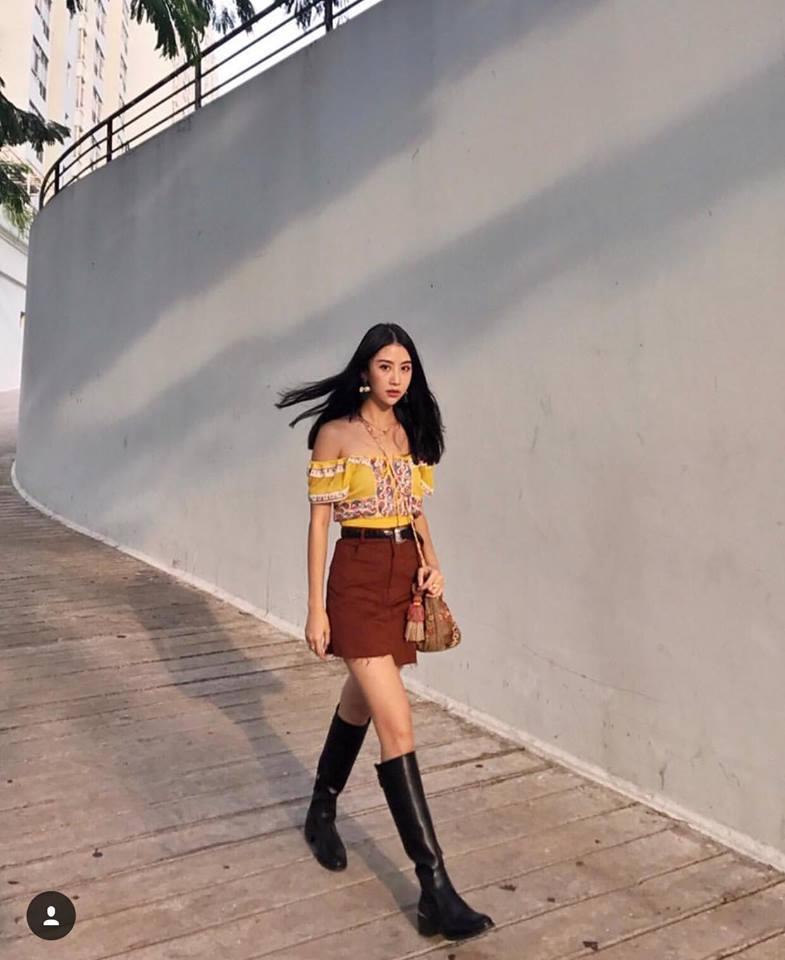 Cùng phải lòng áo trễ vai, Khánh Linh - Quỳnh Anh Shyn diện street style cực bắt mắt-8