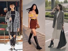 Dàn hot-face Việt 'lăng xê' nhiệt tình mốt áo blazer kẻ trong street style tuần này