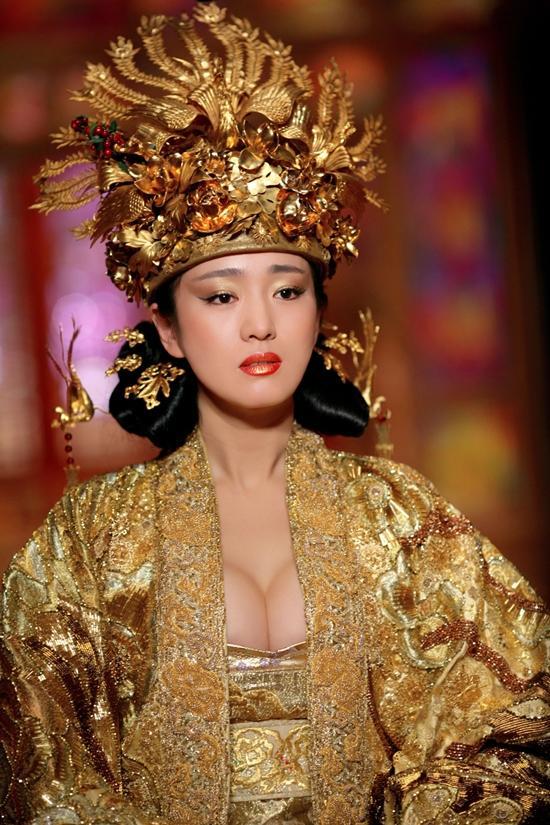 Đốt mắt với tạo hình cổ trang khoe ngực quá đà của mỹ nhân Hoa Ngữ-9