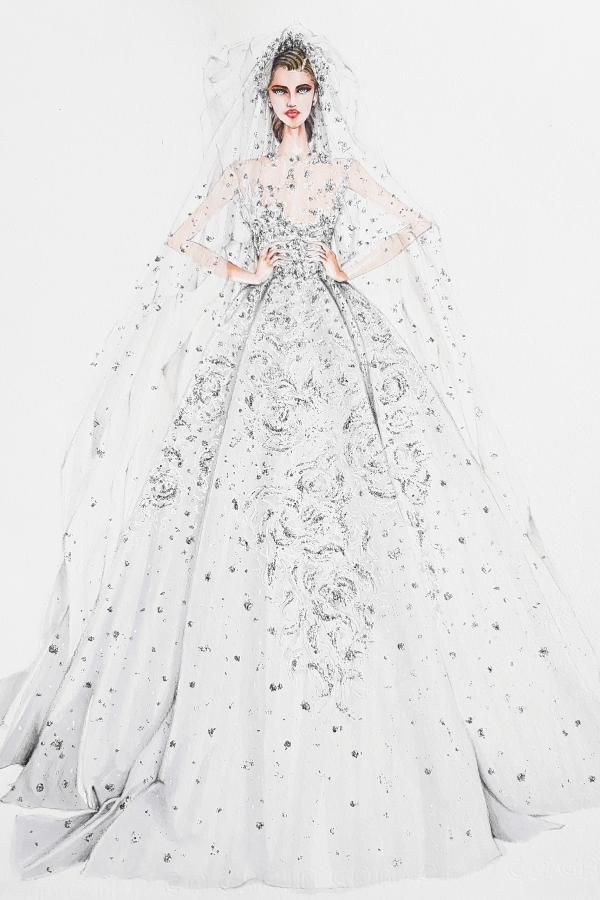 Với vóc dáng bé nhỏ, Song Hye Kyo sẽ chọn váy cưới kiểu nào để làm 'cô dâu thế kỉ'?-13