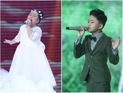 Giọng hát Việt nhí: Thanh Ngân, Tâm Hào hát về cha mẹ khiến BGK xúc động