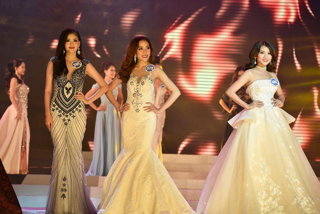 Thí sinh Hoa hậu Đại dương đụng hàng Huyền My trong đêm chung kết-2