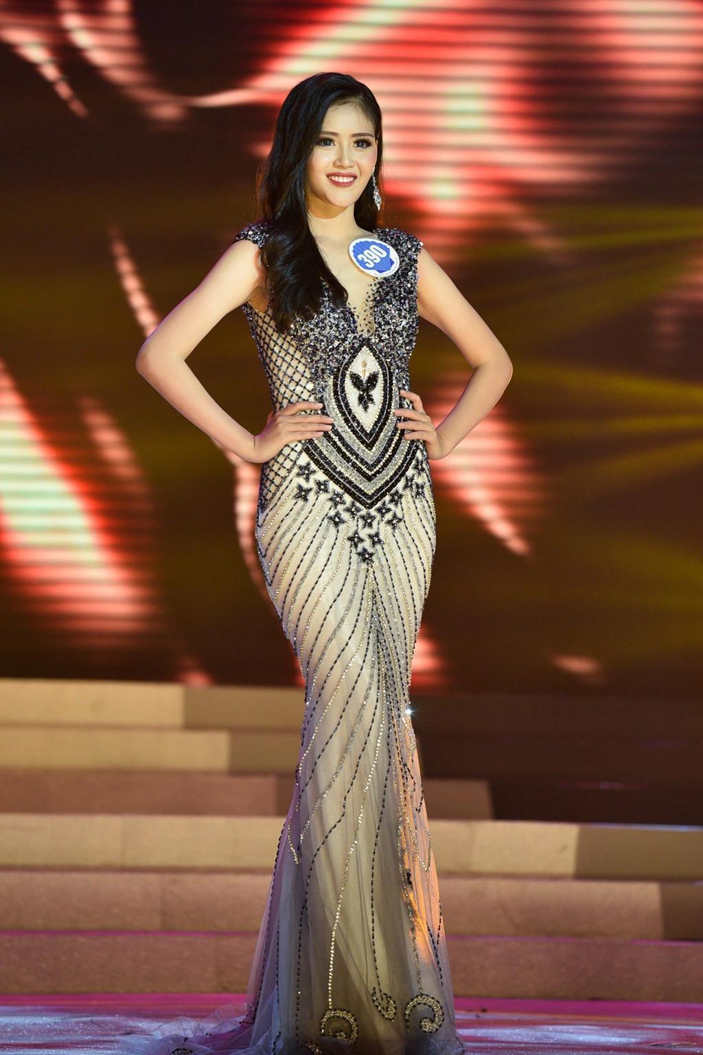 Thí sinh Hoa hậu Đại dương đụng hàng Huyền My trong đêm chung kết-5