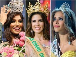 Nhan sắc tuyệt mỹ của 3 hoa hậu quốc tế đăng quang trên đất nước Việt Nam