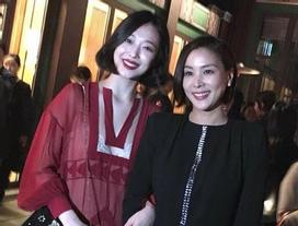 Sao Hàn 29/10: Sulli mặc áo 'xuyên thấu', khoe sắc bên bà xã Jang Dong Gun