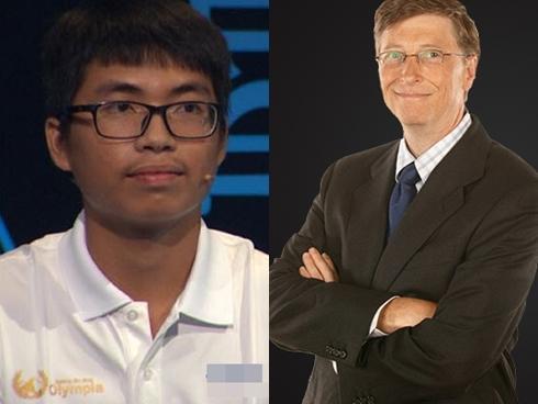 10X mơ ước gặp tỷ phú Bill Gates giành chiến thắng tại cuộc thi tuần của Đường lên đỉnh Olympia-2