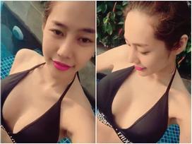 Tin sao Việt 29/10: Linh Chi tự quay clip khoe 3 vòng lả lơi giữa hồ bơi