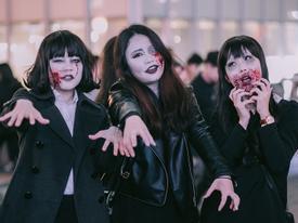 Tận hưởng không khí Halloween sớm tại Nhật Bản