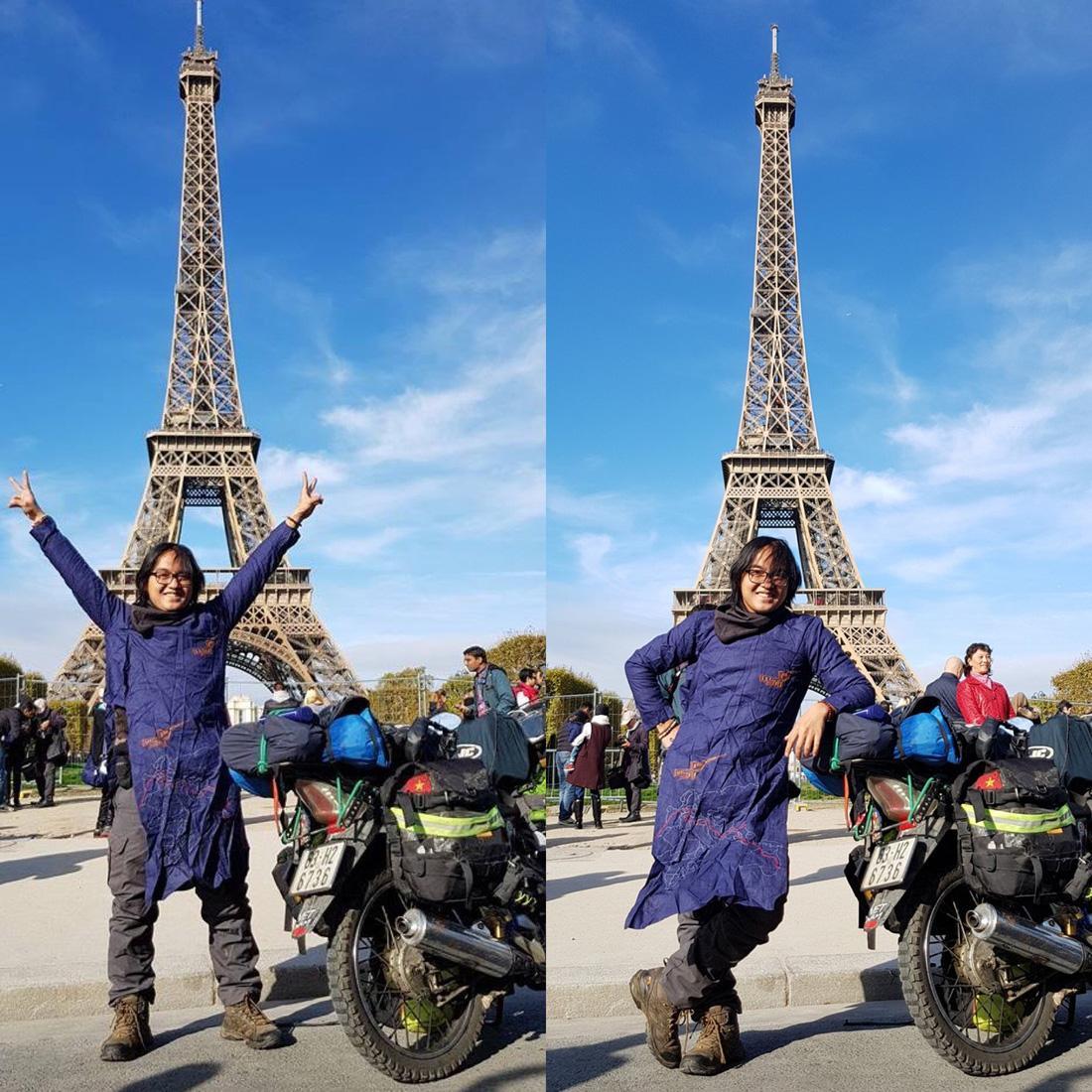 Chàng trai Tiền Giang đi xe máy từ Việt Nam đến Pháp-1