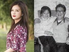 Lần đầu tiên 'cách cách' Triệu Vy công khai ảnh chụp với cha mẹ ruột