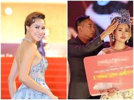 MC Phương Mai tố Võ Việt Chung nói dối việc trao vương miện cho tân Hoa hậu Đại Dương 2017