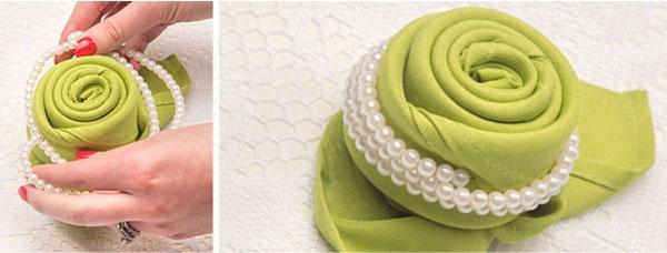 3 cách gấp khăn ăn trang trí bàn ăn đẹp tinh tế-5