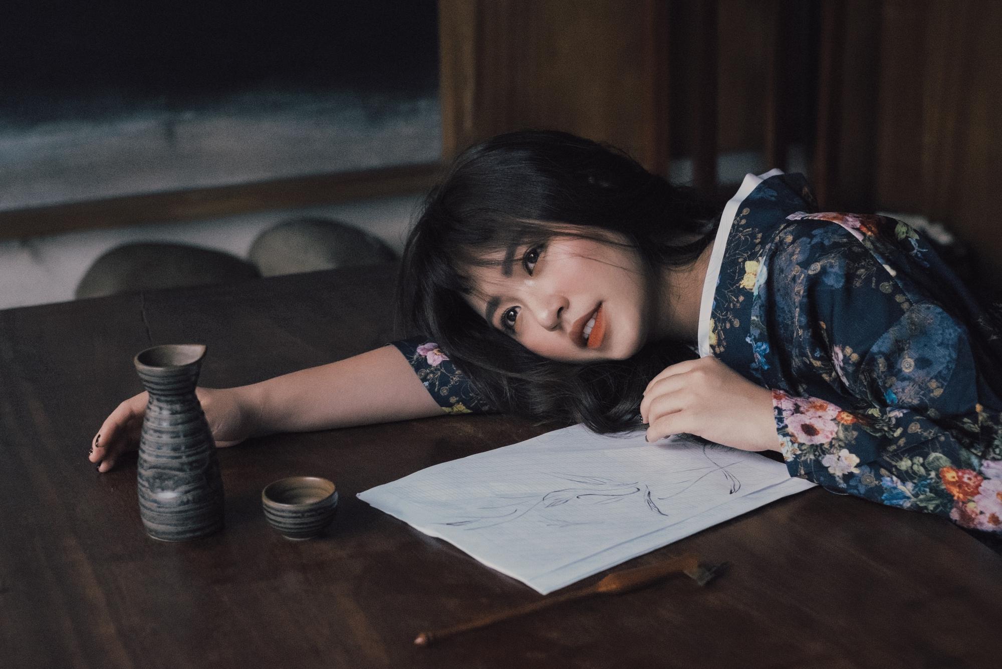 Mẫn Tiên gợi cảm trong bộ ảnh mới, tiết lộ tăng 8kg từ khi du học Nhật-4