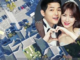 Cập nhật từ Hàn Quốc: 1 ngày trước siêu đám cưới Song Song, lễ đường để trống như đùa!