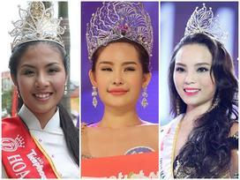 Những hoa hậu Việt vừa đăng quang đã bị 'ném đá' tơi tả về nhan sắc