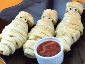 'Sởn da gà' với những  món ăn rùng rợn nhất, chỉ Halloween mới có