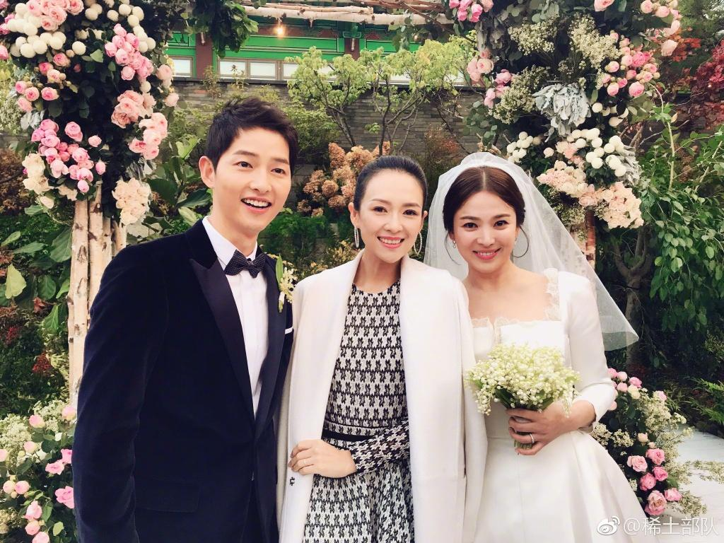 Hình ảnh Song Hye Kyo mặt bầu tròn trĩnh làm dấy lên nghi ngờ cô dâu đã có tin vui-4
