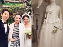 Tiết lộ hình ảnh đầu tiên về hanbok truyền thống tuyệt đẹp của cô dâu Song Hye Kyo trong ngày cưới