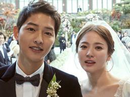 Bộ ảnh cưới chính thức siêu đẹp của Song Joong Ki và Song Hye Kyo