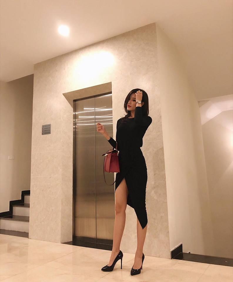 Huyền My gợi cảm - Sơn Tùng lăng xê mốt quần của bố trong street style tuần này-3