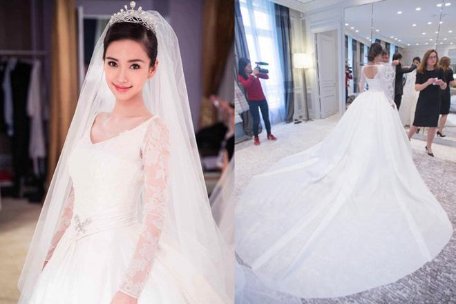 Cùng với Song Hye Kyo, nhiều người đẹp cũng diện thiết kế váy cưới của Dior trong ngày trọng đại-4