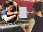 Hot girl - hot boy Việt 1/11: 'Bạn gái' Phan Thành trổ tài chơi piano hút triệu lượt xem