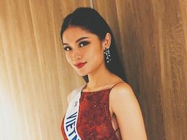 Thùy Dung chứng minh không quên hình ảnh quốc gia trong clip giới thiệu Hoa hậu Quốc Tế 2017