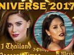 Nguyễn Thị Loan đứng ngoài dự đoán Top 15 mỹ nhân tiềm năng đăng quang Miss Universe 2017