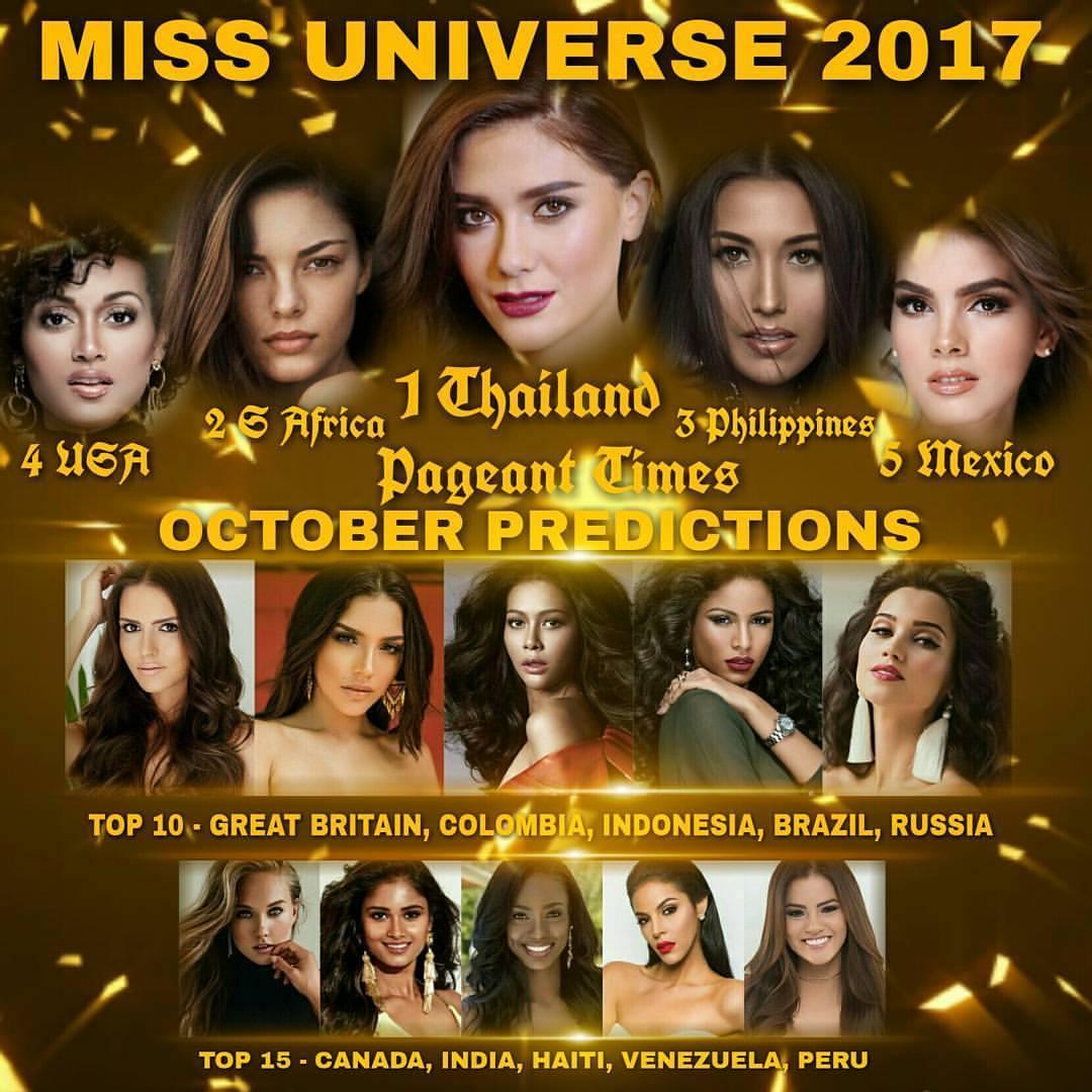 Nguyễn Thị Loan đứng ngoài dự đoán Top 15 mỹ nhân tiềm năng đăng quang Miss Universe 2017-1